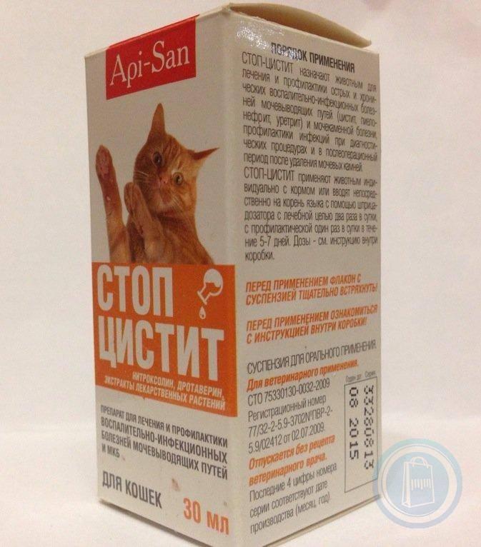 Суспензия стоп-цистит био для кошек - купить, цена и аналоги, инструкция по применению, отзывы в интернет ветаптеке добропесик