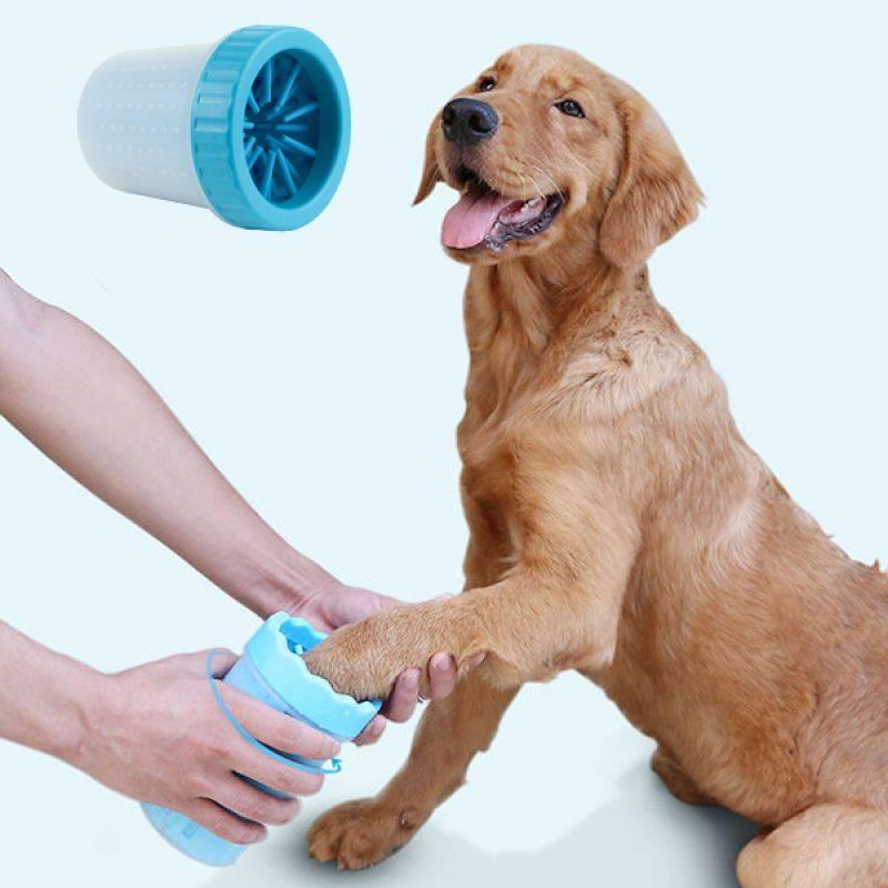 Лапомойка для собак - выбор и использование