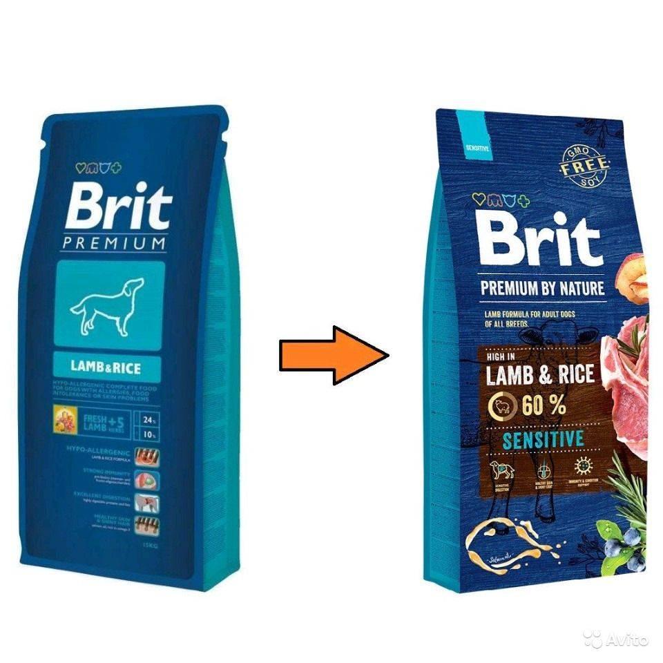 Корм brit для собак: состав линейки, отзывы