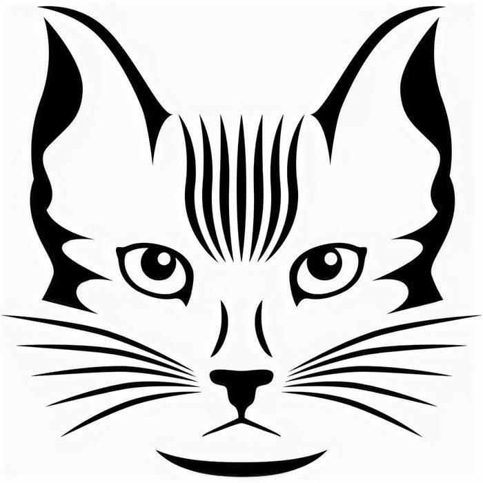 Как нарисовать на лице кошку в домашних условиях + фото пошагово