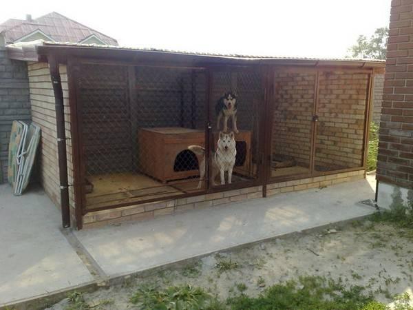 Вольеры и ограждения для собак