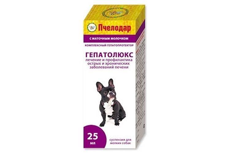 Гепатолюкс суспензия для собак средних и крупных пород 50 мл - купить, цена и аналоги, инструкция по применению, отзывы в интернет ветаптеке добропесик