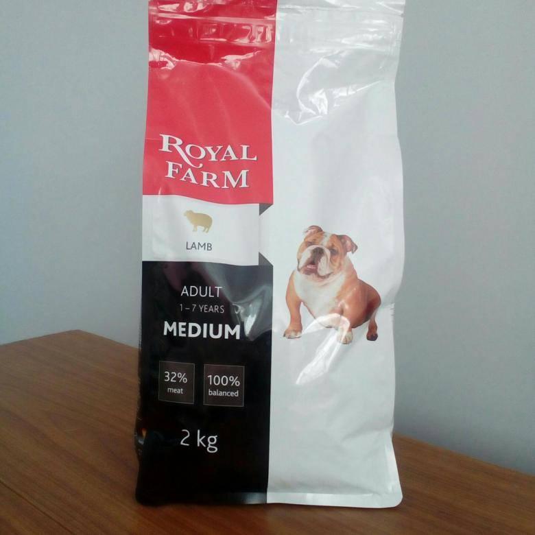 Корм для собак royal farm