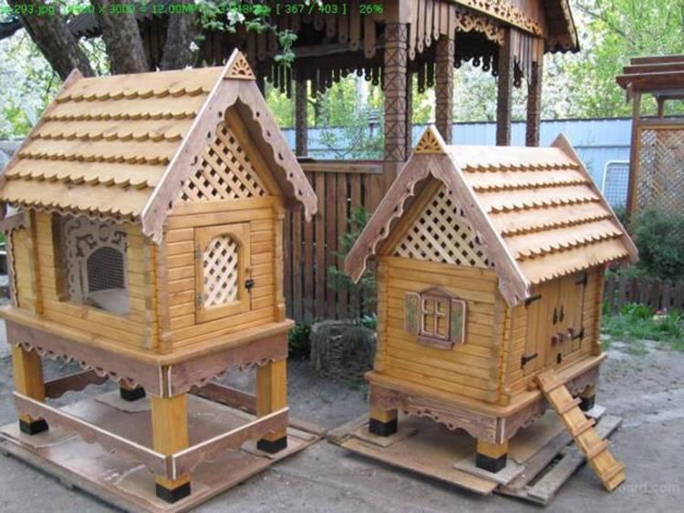 Крольчатник своими руками - подбор оптимальных материалов и особенности постройки домика для крольчат (115 фото)
