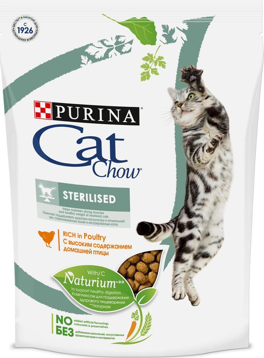 Корм кэт чау для кошек: отзывы и обзор состава |