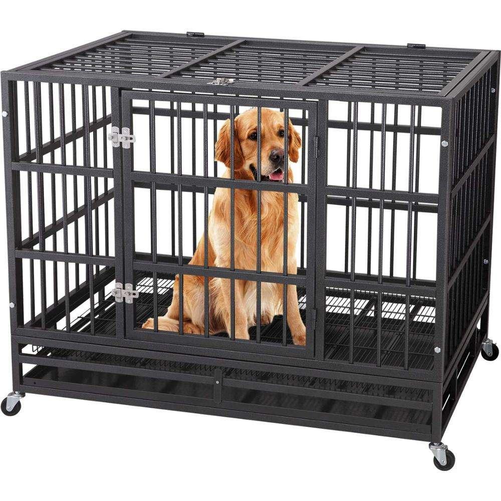 Нужна ли собаке клетка в квартире: все «за» и «против»