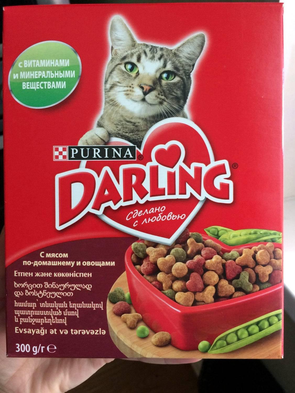 Корм для кошек darling: отзывы, разбор состава, цена - петобзор