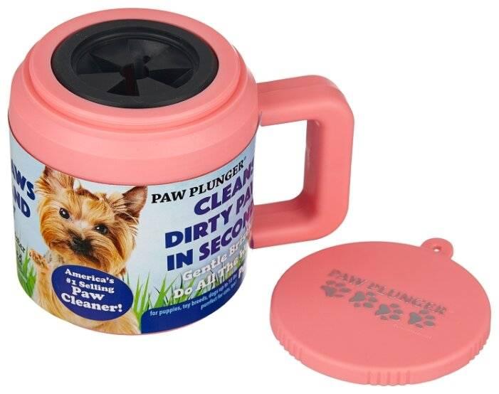 Описание лапомоек для собаки: обзор устройства paw plunger и других моделей