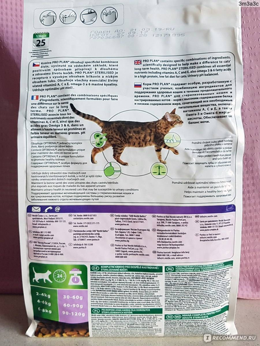 Корм для кошек guabi natural cat sterilized