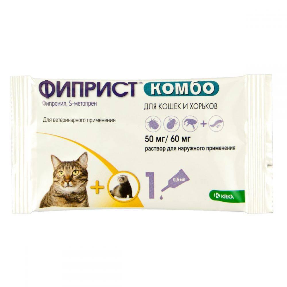 Фиприст  — так ли эффективно средство от блох и клещей для кошек?