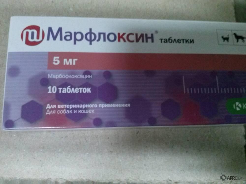 Ветеринарный препарат | марфлоксин 10% раствор для инъекций от krka