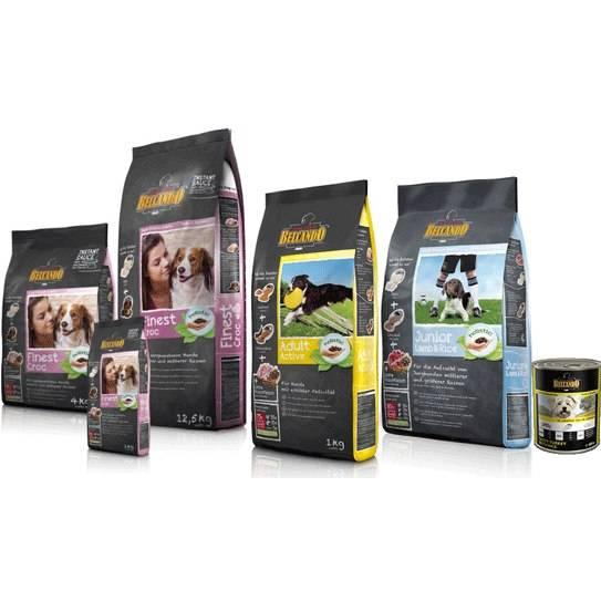Корм для собак белькандо (belcando): отзывы, состав и цены