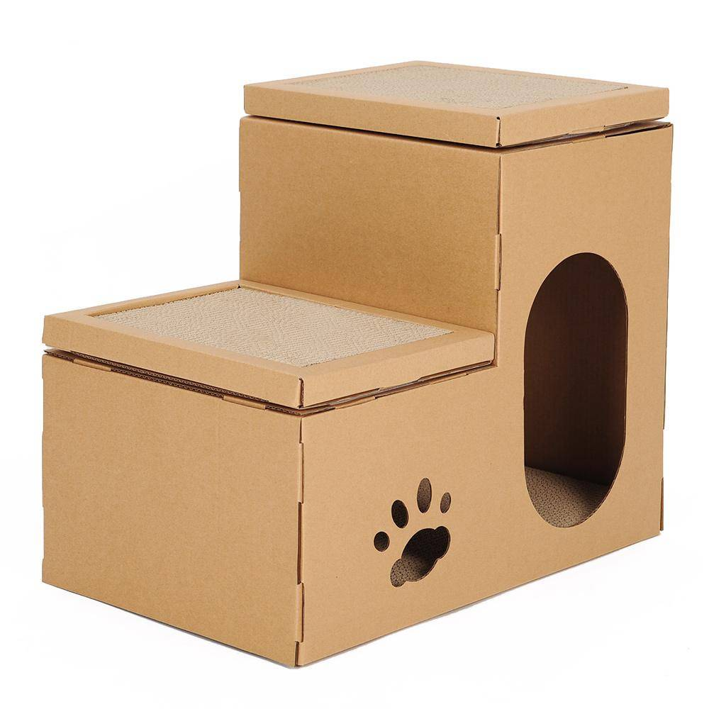 Как сделать домик для кошки своими руками — 110 фото оригинальных идей и решений. советы по выбору и применению подручных материалов