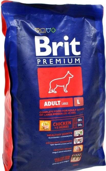 Корм брит для собак - отзывы ветеринаров и подробный разбор состава | petguru
