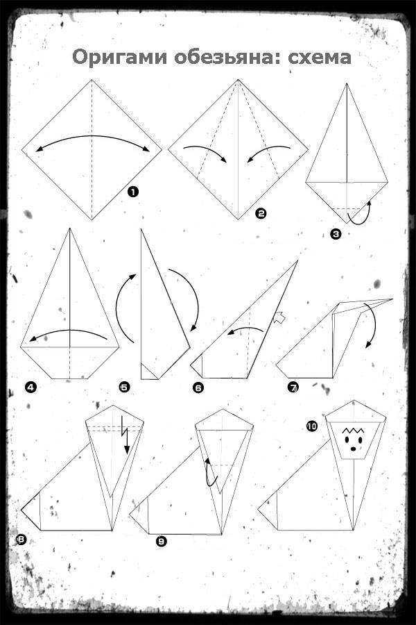 Модульное оригами, животные: схемы сборки, крепления модулей, подробное описание работ с модульными оригами