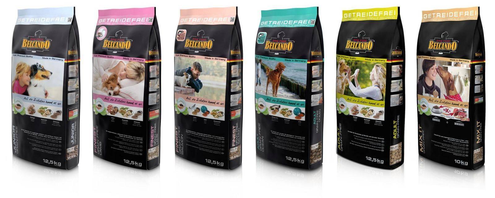 Корм для собак belcando: отзывы, разбор состава, цена - петобзор