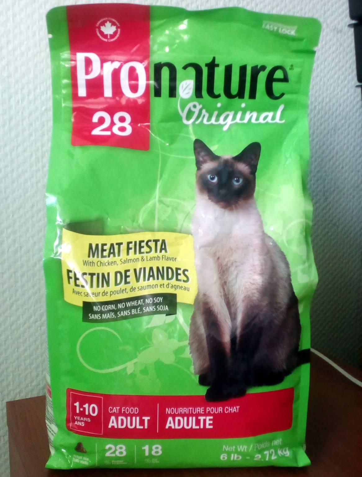 Корм для кошек pronature life: отзывы и разбор состава