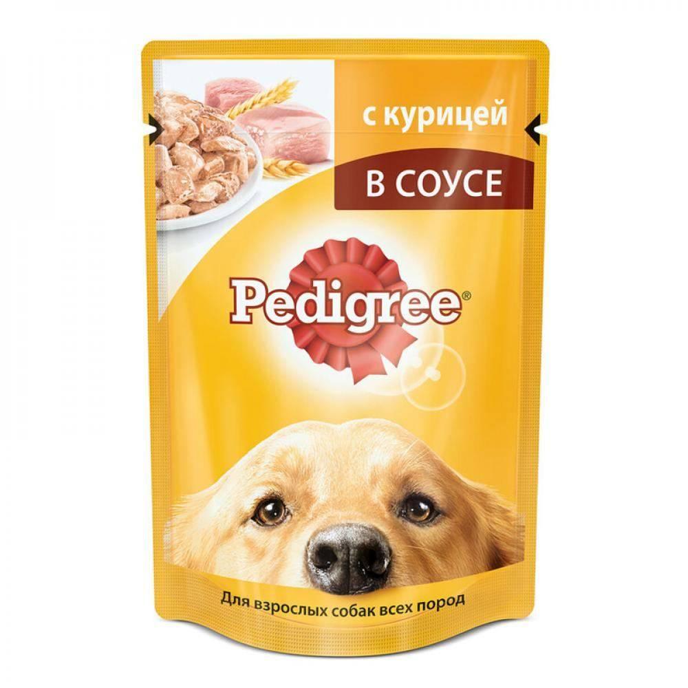 Обзор с описанием состава корма педигри для щенков и взрослых собак