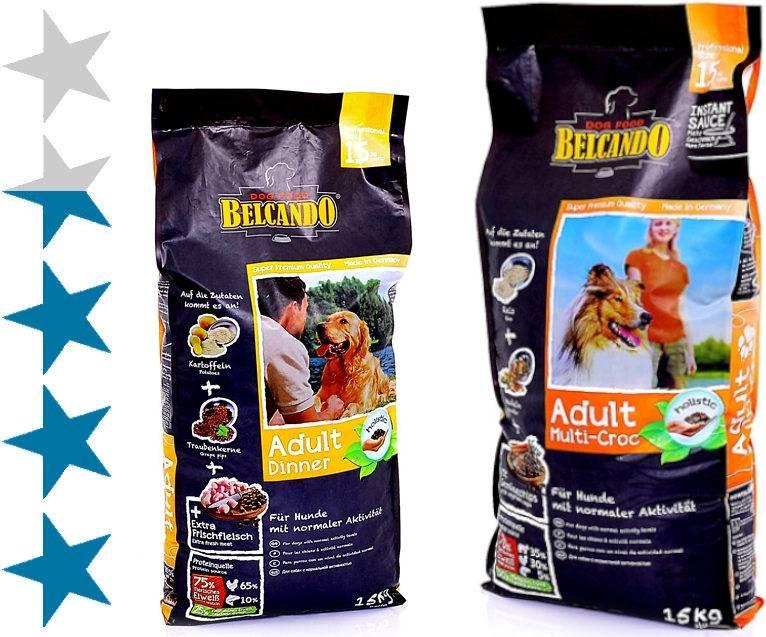 Подробное описание состава и обзор линейки кормов для собак belcando