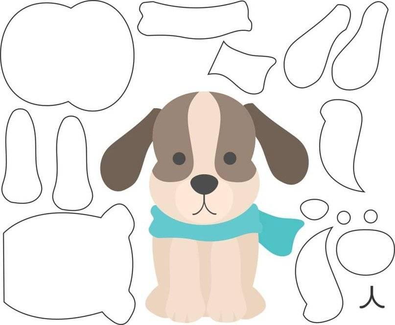 Поделка собака - 60 фото и описание как и из чего можно сделать поделку в виде собаки