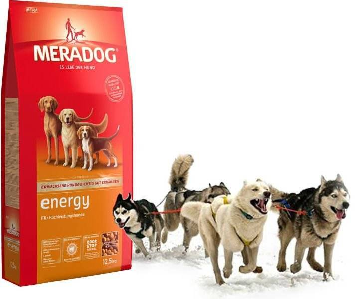 Корм meragod (мерадог) для собак