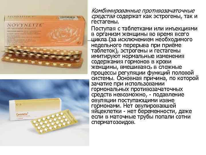 Противозачаточные таблетки и курение - кок для курящих