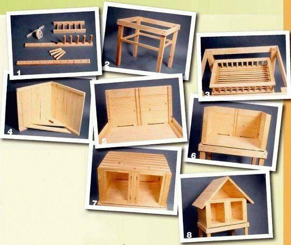 ᐉ домик для декоративного кролика: изготовление своими руками - zooon.ru
