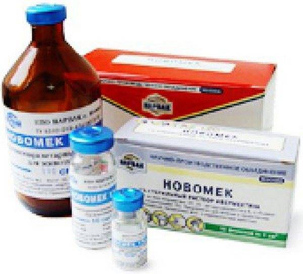 Интермектин, противопаразитарный прапарат в инъекциях