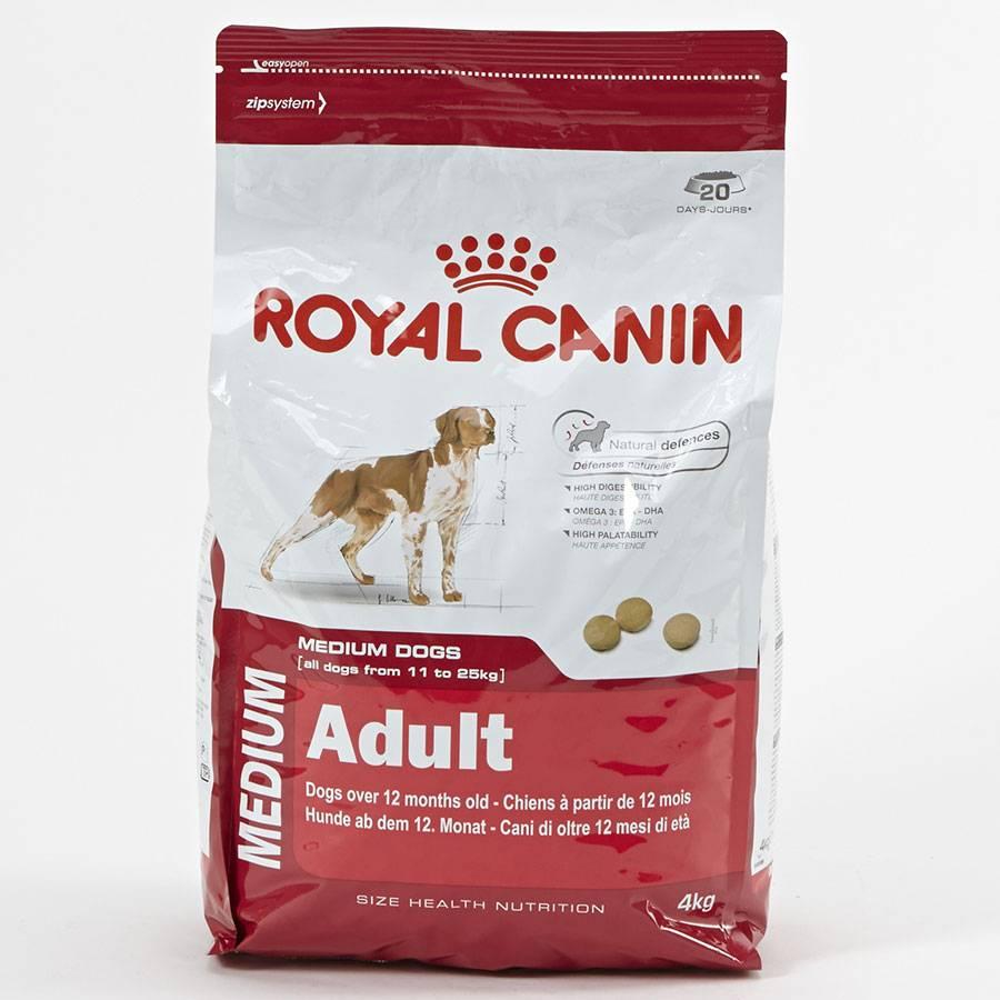 Описание корма для собак марки royal canin: состав, суточная дозировка и отзывы