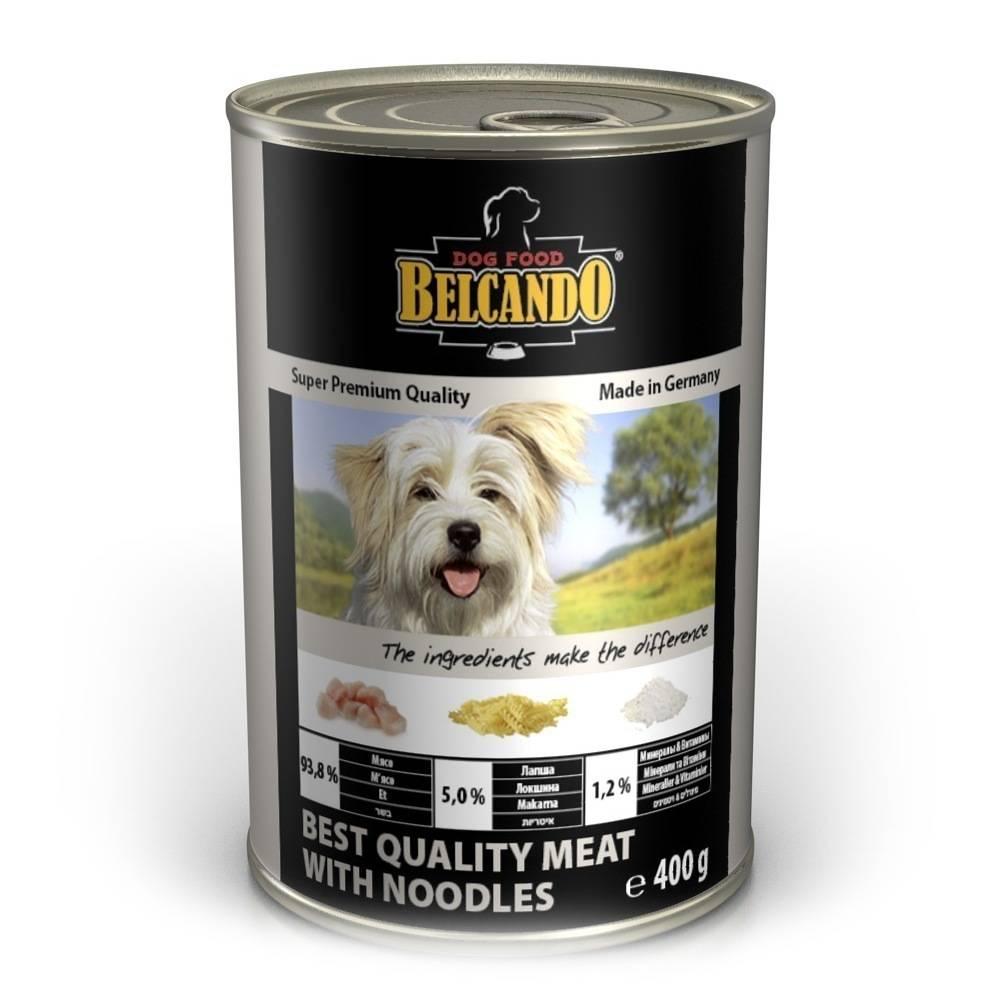 Корм для собак белькандо: обзор состава, линейка кормов и отзывы