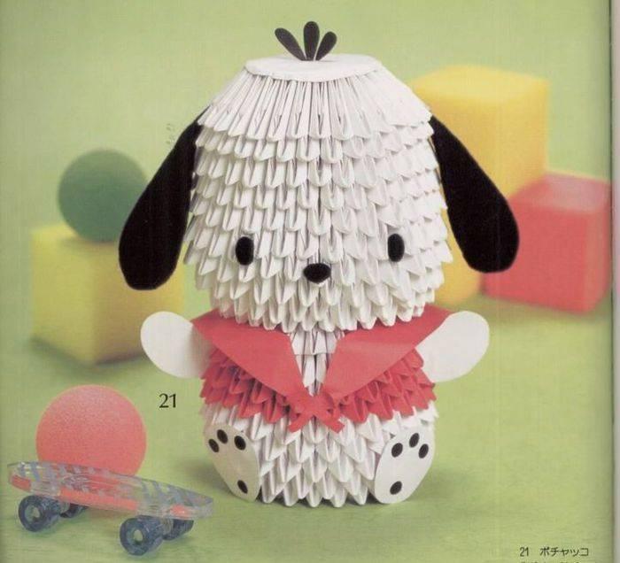 Оригами собака — схемы как собрать собаку своими руками для детей и взрослых (110 фото)