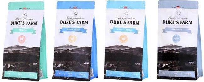 Дюк фарм (duke's farm) корм для собак: отзывы, состав, цены
